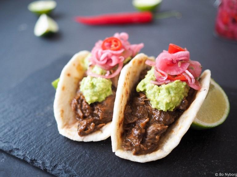 Svinekjake taco