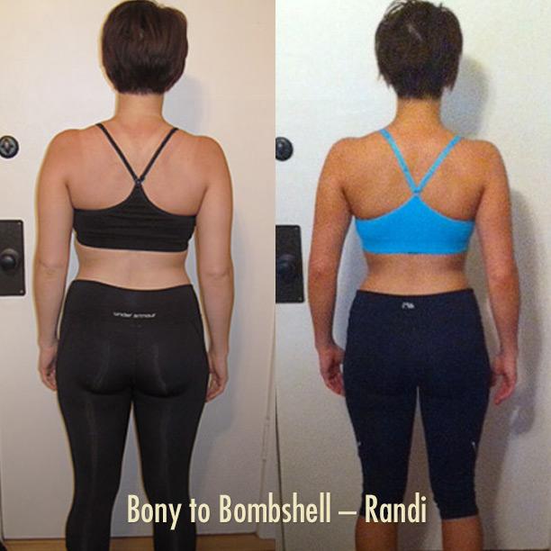Randi's Bony to Bombshell Transformation