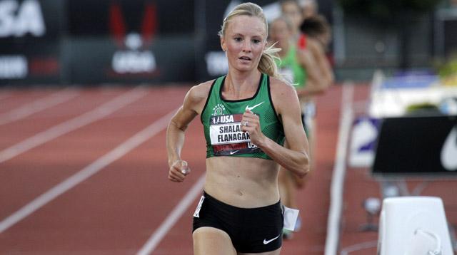 Female Olympic Marathon Runner