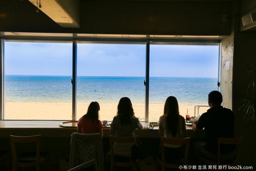 沖繩海景咖啡廳-on the beach CAFE