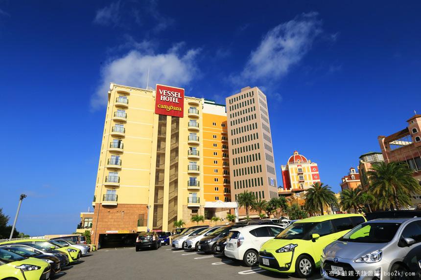 美國村,坎帕納船舶飯店Vessel Hotel Campana Okinawa