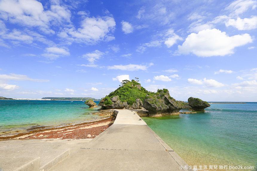 浜比嘉島 神々の墓は小島