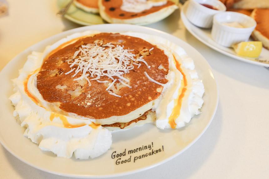 沖繩美食 Hawaiian Pancakes House Paanilani 夏威夷鬆餅屋