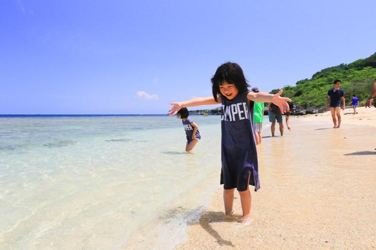 小琉球玩水沙灘