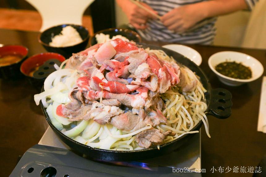 函館成吉思汗燒肉吃到飽
