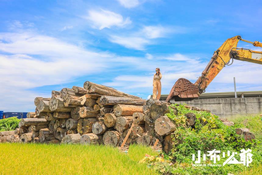 清水伐木場