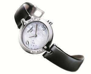 TISSOT-Flamingo幻彩系列鑽錶-