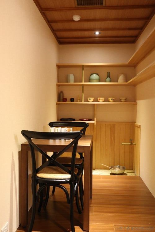 [台北公館]平安京茶事,台電大樓轉角走到京都吃竹筒抹茶冰、抹茶蛋糕IMG_0511