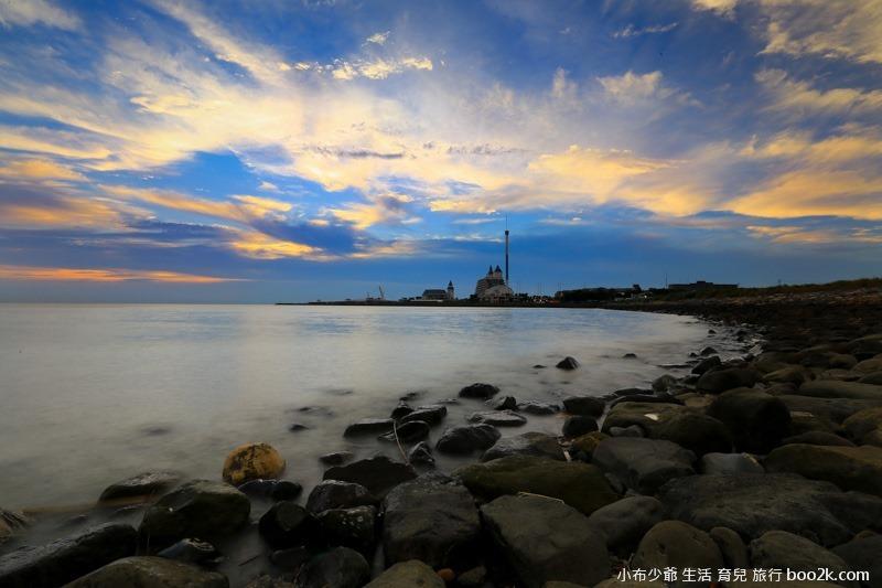 淡水油車口 漁人碼頭 落日攝影-7832