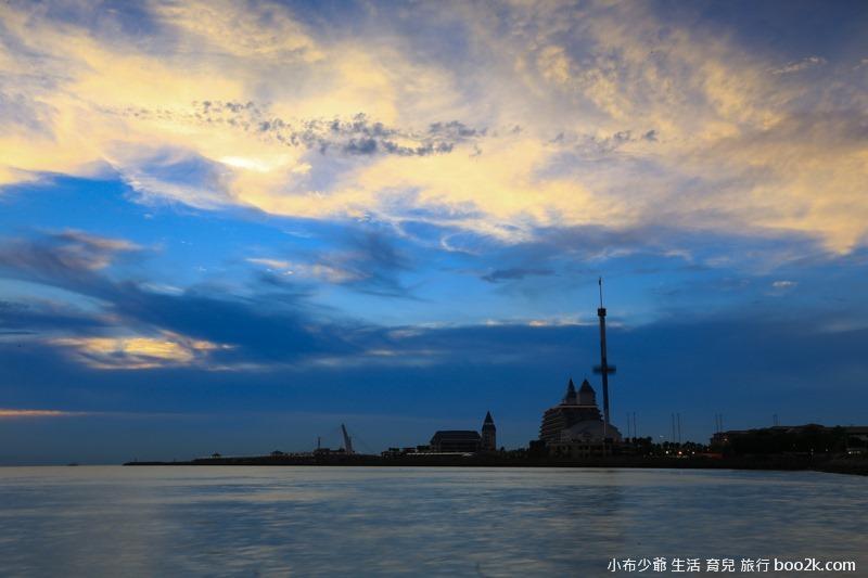 淡水油車口 漁人碼頭 落日攝影-7854
