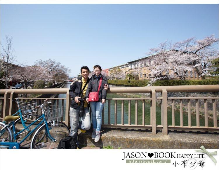 [2013京都賞櫻]岡崎疏水道~美術館前的無料賞櫻+乘船賞櫻趣