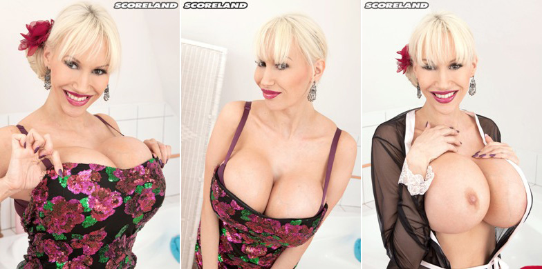 GETTING READY FOR A DATE: NEW SANDRA STAR SET & HD VIDEO @ SCORELAND.