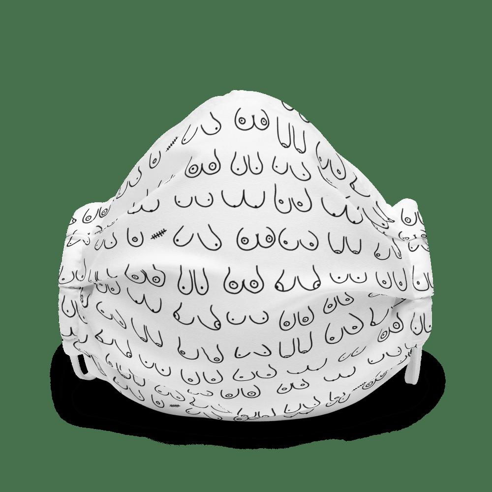 boob face mask