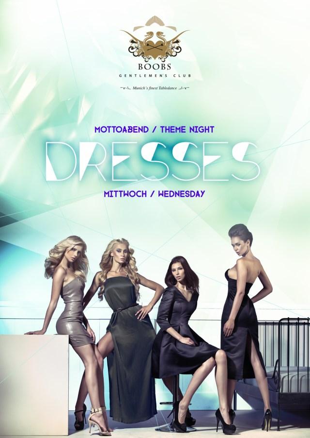Dresses Mottoabend / Theme Night jeden Mittwoch im BOOBS Gentlemen's Club - Munich's finest Tabledance Club
