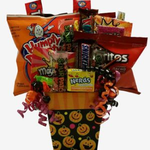 Halloween Goodies Gift Basket