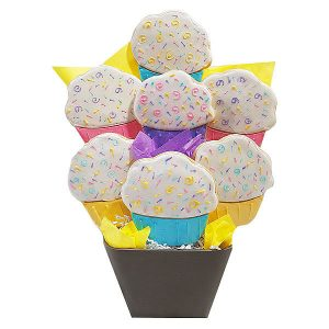 Cupcake-Cookie-Bouquet