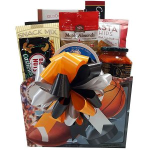 sports fan Gift Basket
