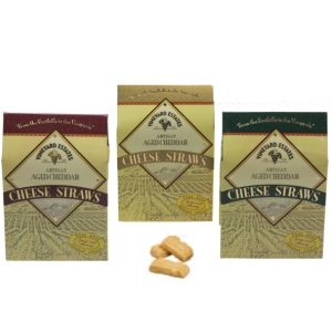 Artisan Aged Cheddar Cheese Straws Asst 3 Colors 2 oz-57g-1 piece