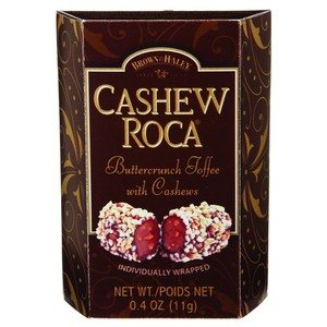 Brown & Haley Cashew Roca Brown 0.4 oz-11g