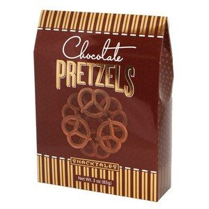 Chocolate Pretzels - Brown 85g-3 oz