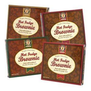Fountain Street Bakery Hot Fudge Brownie Asst 4 Colors 1.5 oz-43g-1 piece