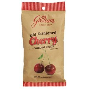 Gilliam Old Fashioned Cherry Drops 127g-4.5oz