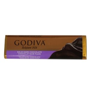 Godiva Solid Dark Chocolate Bar 43g-1.5oz