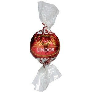 Lindt Lindor Truffles Singles - Milk Red 12g-0.4oz