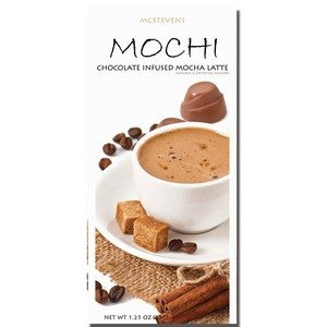 McSteven's Mochi Chocolate Infused Mocha Latte 35g-1.25oz