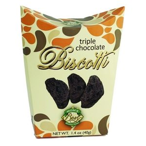 Mom's Best Triple Chocolate Biscotti Red 40g-1.4 oz