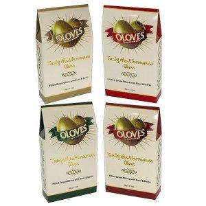 Oloves Tasty Mediterranean Olives Asst 4 Colors 31g-1.1 oz-1 piece