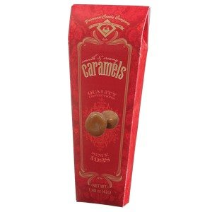 Primrose Candy Smooth & Creamy Caramels Red 1.25 oz-35.6g