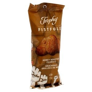 Trophy Foods Honey Roasted Peanuts 70g