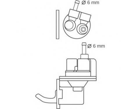 Skoda Fuel Pump Diagram