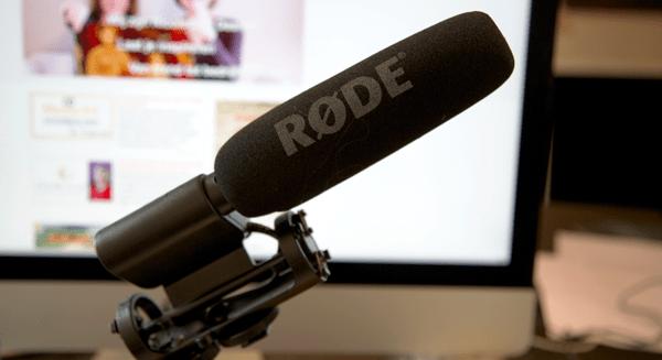 rode-microfoon