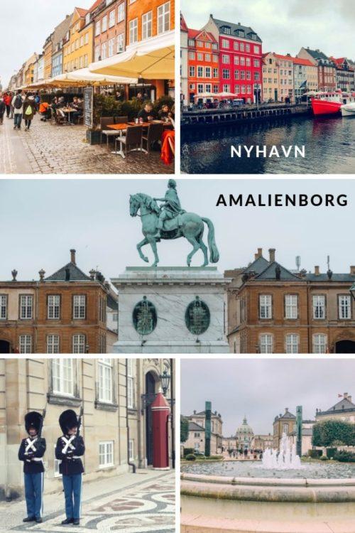 Nyhavn en Amalienborg zijn super bezienswaardig en een must visit in Kopenhagen. - www.Booest.nl