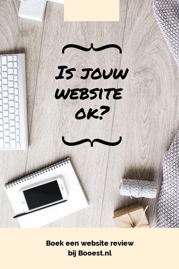 Is jouw website ok? Trekt je website voldoende bezoekers? Hoe vinden anderen (naast familie) jouw website? Voldoet jouw website aan de minimale eisen voor een goede website? Doe samen met Booest een website review, zodat je direct stappen hebt voor verbetering.