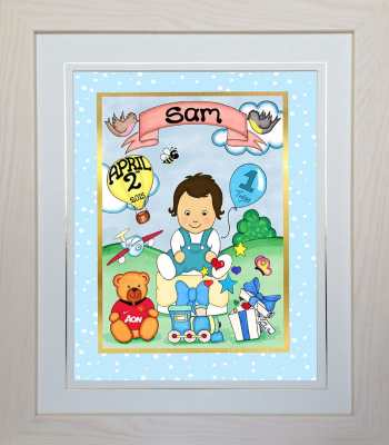 Unique Personalised Baby's Birthday Gift