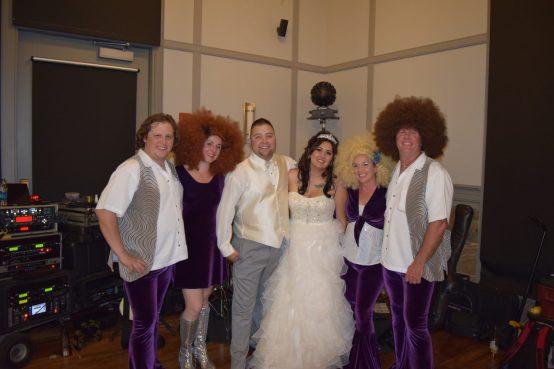 Boogie Machine Wedding Fans
