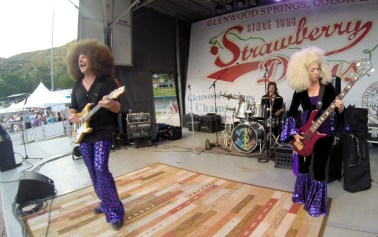 Boogie Machine - Strawberry Days - Outdoor Concert 2014