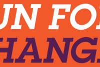 Run For Change Logo