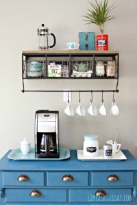 DIY Dcor: Creating Your Own Coffee Station!