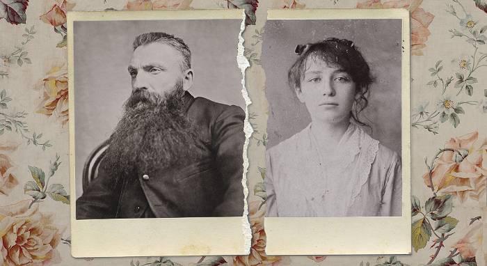 Photos de Camille Claudel et Rodin