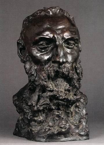 Sculpture buste de Rodin