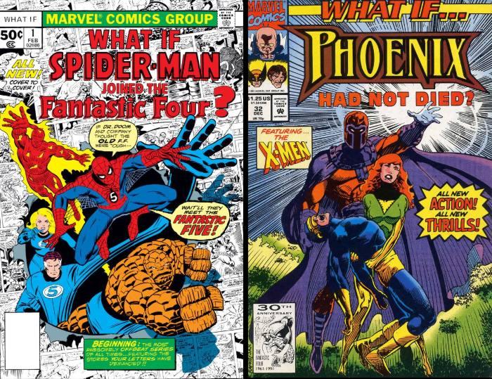 Exemples de What if pour le lexique des comics