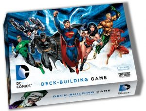 Boîte de DC Comics Deck-Building Game