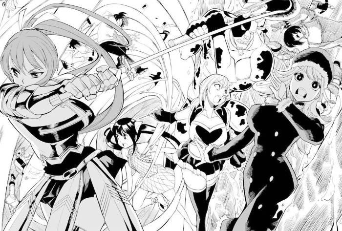 Extrait du manga Fairy Girls tome 1