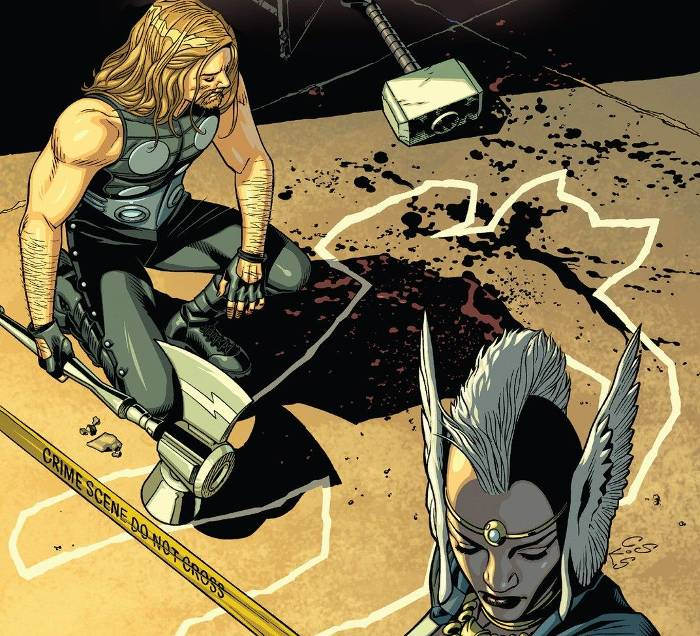 Extrait de Secret Wars Thors
