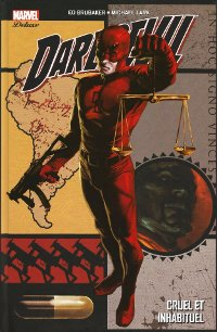Couverture de Daredevil, tome 3 - Cruel et inhabituel