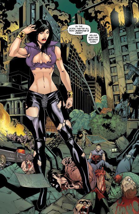 Extrait du comics Hellina tome 1